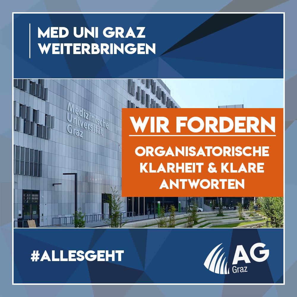Petition für faire Studienbedingungen an der Med Uni Graz