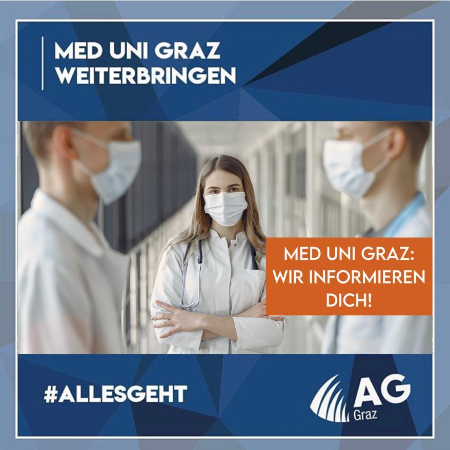 Med Uni Graz: Wir informieren dich!